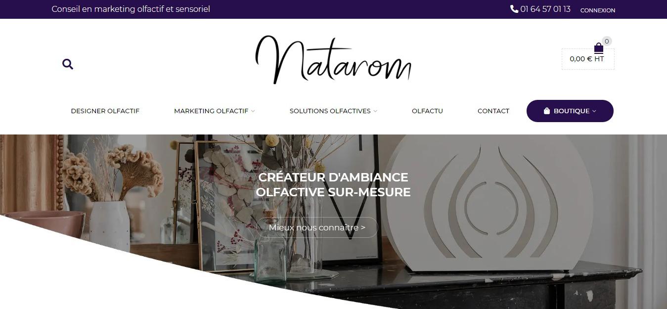 Site Natarom